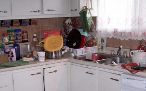 Kitchen - Before the uncluttering